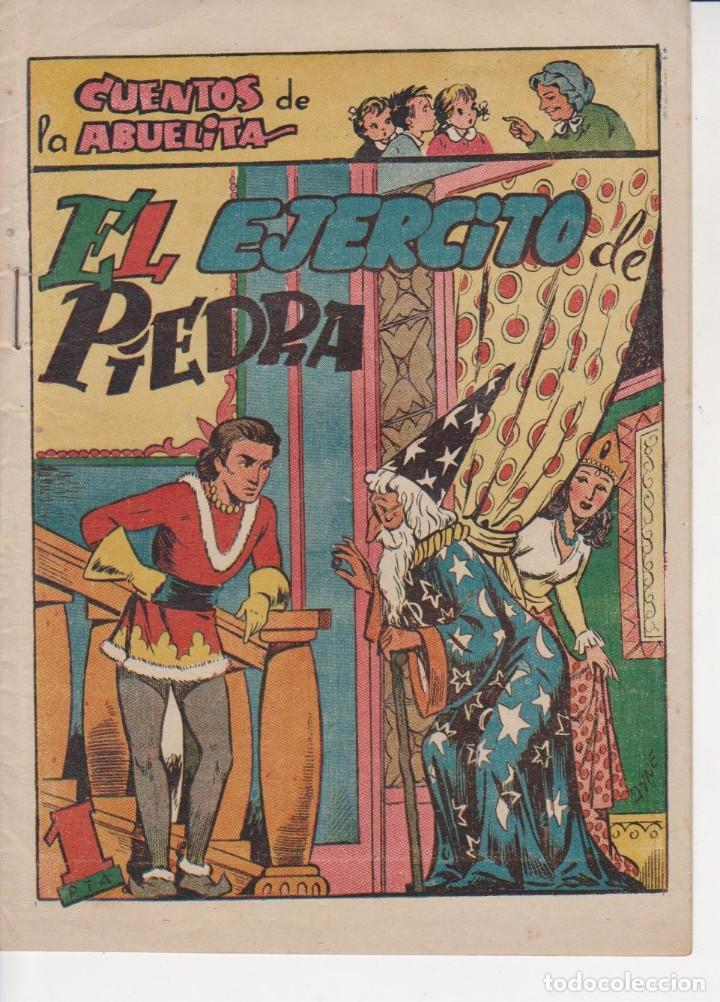 COMIC COLECCION CUENTOS DE LA ABUELITA EL EJERCITO DE PIEDRA (Tebeos y Comics - Toray - Cuentos de la Abuelita)