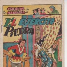 Tebeos: COMIC COLECCION CUENTOS DE LA ABUELITA EL EJERCITO DE PIEDRA. Lote 226751530