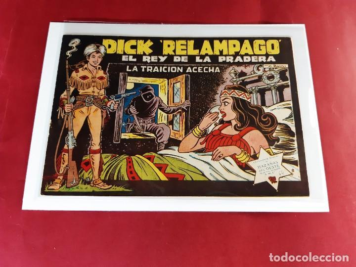DICK RELAMPAGO Nº 64 -ORIGINAL - IMPECABLE ESTADO (Tebeos y Comics - Toray - Dick Relampago)