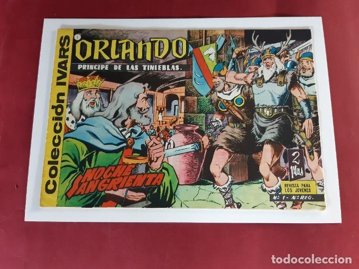 ORLANDO-PRINCIPE DE LAS TINIEBLAS- Nº 1-ORIGINAL-IMPECABLE ESTADO (Tebeos y Comics - Toray - Otros)