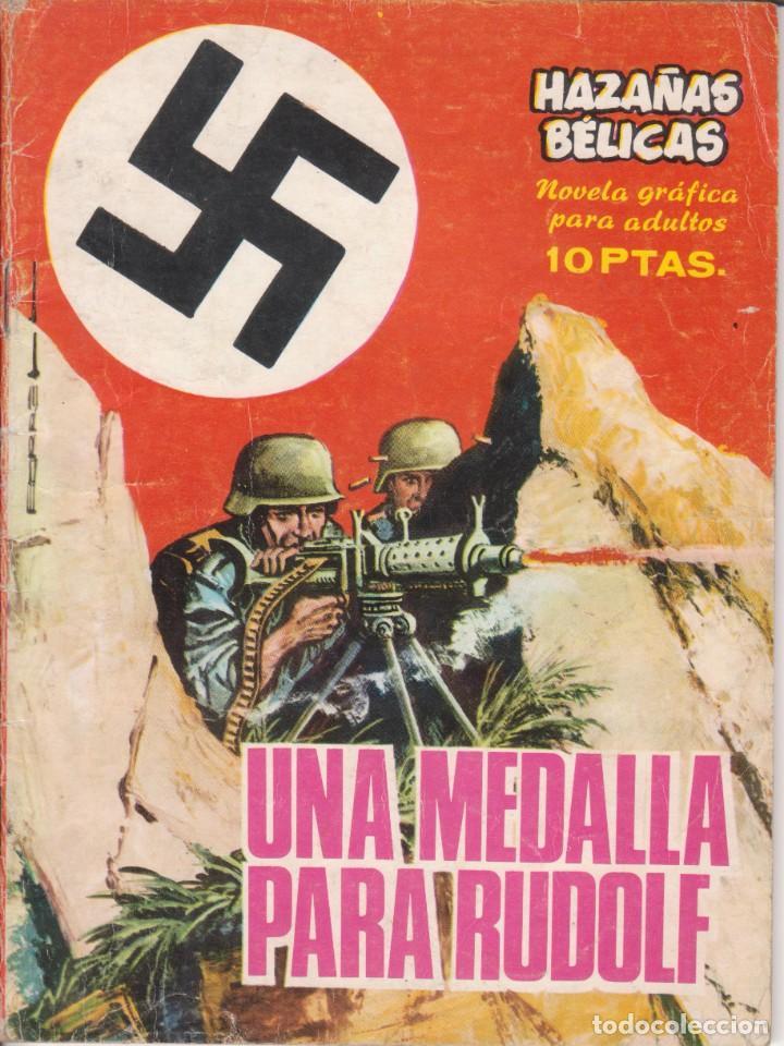 """CÓMIC """"HAZAÑAS BÉLICAS"""" Nº 127 ED. TORAY (FORMATO CUARTILLA DIN-A5) 1969 (Tebeos y Comics - Toray - Otros)"""