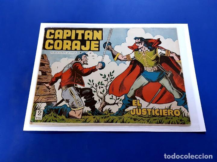 CAPITAN CORAJE Nº 1- ORIGINAL -EXCELENTE ESTADO (Tebeos y Comics - Toray - Otros)