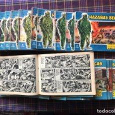 Tebeos: COLECCIÓN DE 59 CÓMICS, DE № 3 A 90 - HAZAÑAS BÉLICAS, SERIE AZUL, TORAYS.A. 1958. Lote 227728060