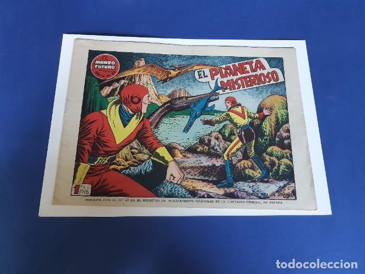 EL MUNDO FUTURO Nº 58 -ORIGINAL-EXCELENTE ESTADO (Tebeos y Comics - Toray - Mundo Futuro)