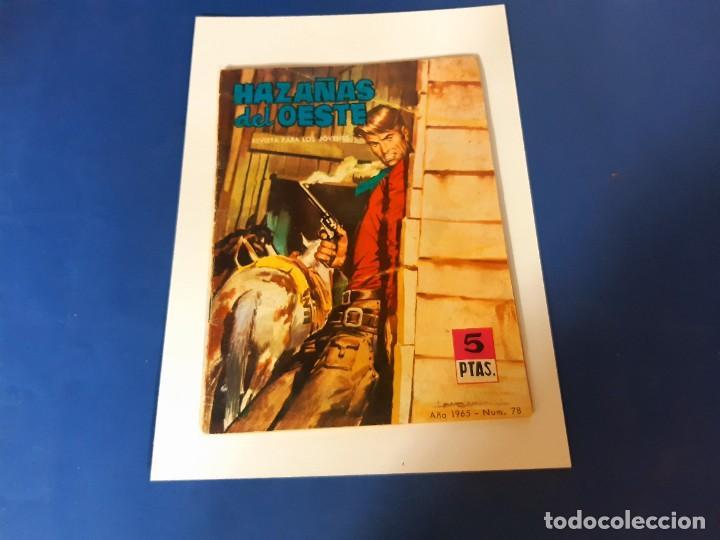 HAZAÑAS DEL OESTE Nº 78 TORAY (Tebeos y Comics - Toray - Hazañas del Oeste)