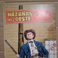 Tebeos: HAZAÑAS DEL OESTE AÑO 1968. Lote 229507095