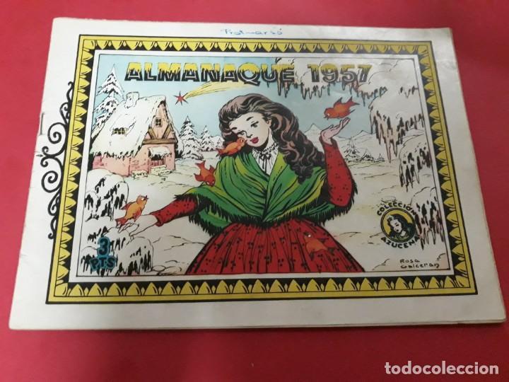 AZUCENA ALMANAQUE 1957 (Tebeos y Comics - Toray - Azucena)