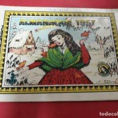 Tebeos: AZUCENA ALMANAQUE 1957. Lote 229739015