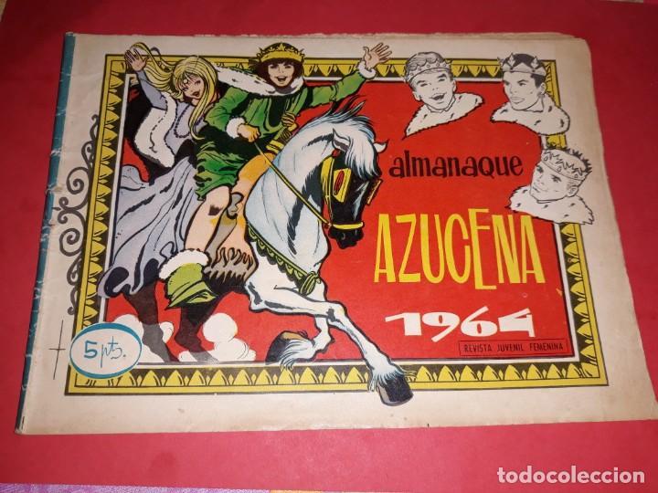 AZUCENA ALMANAQUE 1964 (Tebeos y Comics - Toray - Azucena)