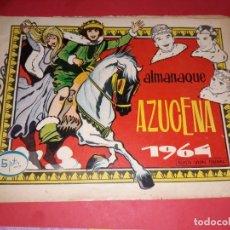 Tebeos: AZUCENA ALMANAQUE 1964. Lote 229739710