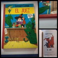Tebeos: LUCKY LUKE EL JUEZ. EDICIONES TORAY 1964 -1ª EDICIÓN -EXCELENTE ESTADO. Lote 230812265