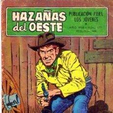 Tebeos: HAZAÑAS DEL OESTE (TORAY) Nº 177. Lote 230903090