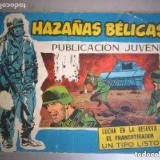 Tebeos: HAZAÑAS BELICAS SERIE AZUL. 3 HISTORIAS. NUM 298. Lote 255006800