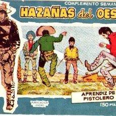 Tebeos: HAZAÑAS DEL OESTE (AZUL) (TORAY) Nº 13. Lote 231040095