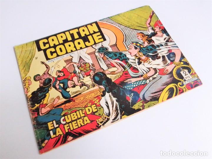 CAPITÁN CORAJE 37 EL CUBIL DE LA FERIA EDICIONES TORAY, S.A. 1958 14 PÁGINAS G. IRANZO (Tebeos y Comics - Toray - Otros)