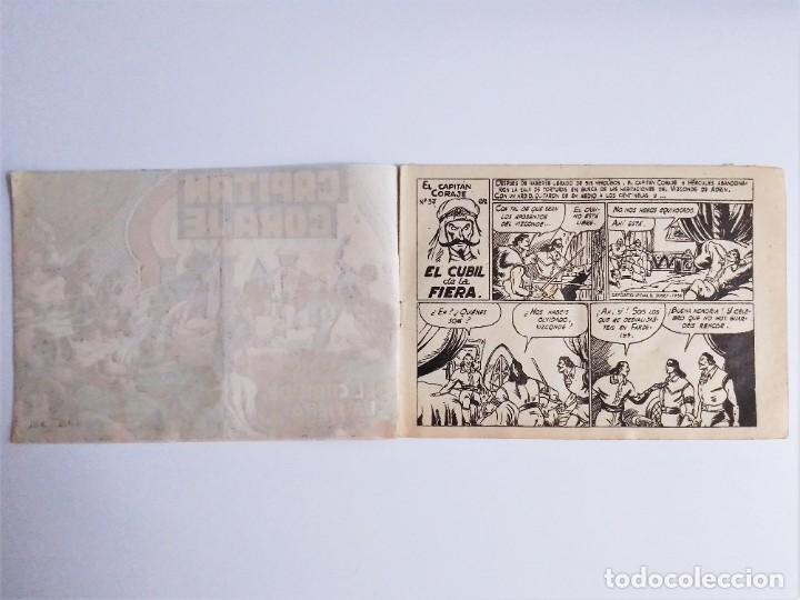 Tebeos: CAPITÁN CORAJE 37 EL CUBIL DE LA FERIA EDICIONES TORAY, S.A. 1958 14 PÁGINAS G. IRANZO - Foto 4 - 231283025