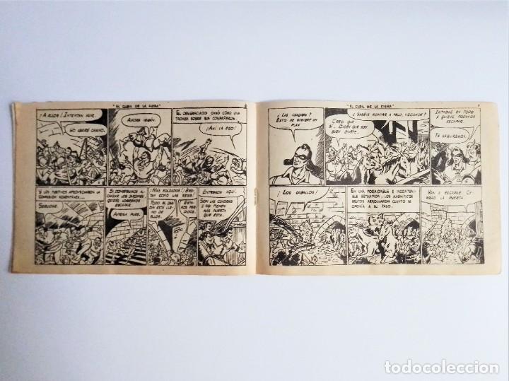 Tebeos: CAPITÁN CORAJE 37 EL CUBIL DE LA FERIA EDICIONES TORAY, S.A. 1958 14 PÁGINAS G. IRANZO - Foto 5 - 231283025