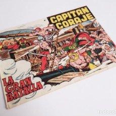Tebeos: CAPITÁN CORAJE 41 LA GRAN BATALLA EDICIONES TORAY, S.A. 1958 14 PÁGINAS G. IRANZO. Lote 231286475