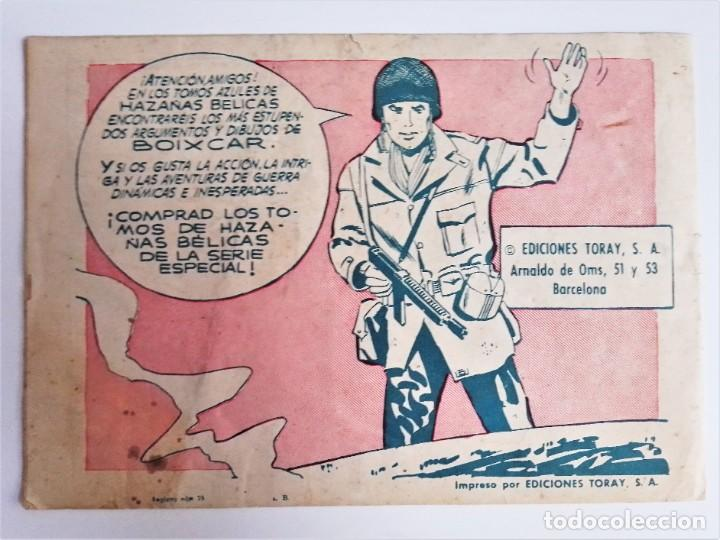 Tebeos: EL HIJO del CAPITÁN CORAJE 2 EL IMPOSTOR TORAY, S.A. 1958 12 PÁGINAS SESÉN Y GIRALT - Foto 3 - 231287430