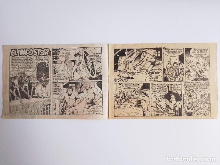 Tebeos: EL HIJO del CAPITÁN CORAJE 2 EL IMPOSTOR TORAY, S.A. 1958 12 PÁGINAS SESÉN Y GIRALT - Foto 4 - 231287430
