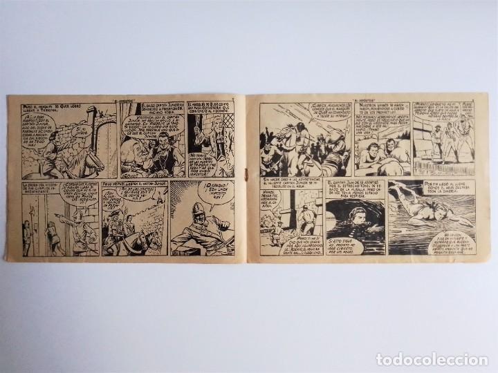 Tebeos: EL HIJO del CAPITÁN CORAJE 2 EL IMPOSTOR TORAY, S.A. 1958 12 PÁGINAS SESÉN Y GIRALT - Foto 5 - 231287430