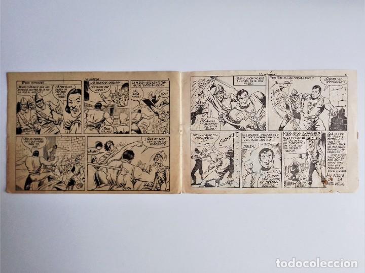 Tebeos: EL HIJO del CAPITÁN CORAJE 2 EL IMPOSTOR TORAY, S.A. 1958 12 PÁGINAS SESÉN Y GIRALT - Foto 6 - 231287430