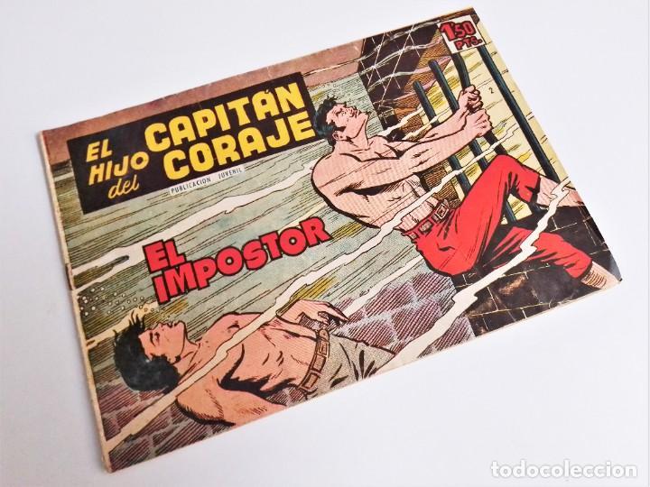 EL HIJO DEL CAPITÁN CORAJE 2 EL IMPOSTOR TORAY, S.A. 1958 12 PÁGINAS SESÉN Y GIRALT (Tebeos y Comics - Toray - Otros)