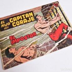 Tebeos: EL HIJO DEL CAPITÁN CORAJE 2 EL IMPOSTOR TORAY, S.A. 1958 12 PÁGINAS SESÉN Y GIRALT. Lote 231287430