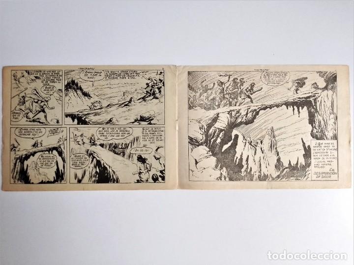 Tebeos: SIGUR EL WIKINGO VIKINGO FUGA DRAMÁTICA SELECCIÓN DE AVENTURAS 133 TORAY 1958 JOSE ORTIZ - Foto 6 - 231291630