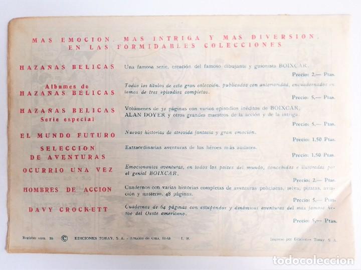 Tebeos: SIGUR EL WIKINGO VIKINGO EL RAPTO DE SITMA SELECCIÓN DE AVENTURAS 136 TORAY 1958 JOSE ORTIZ - Foto 3 - 231296425