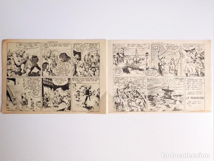 Tebeos: SIGUR EL WIKINGO VIKINGO EL RAPTO DE SITMA SELECCIÓN DE AVENTURAS 136 TORAY 1958 JOSE ORTIZ - Foto 6 - 231296425