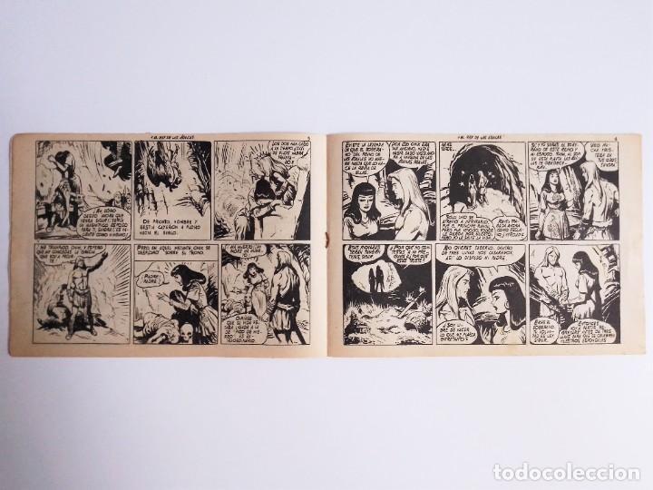 Tebeos: SIGUR EL WIKINGO 11 VIKINGO EL REY DE LAS ÁGUILAS SELECCIÓN DE AVENTURAS 140 TORAY 1958 JOSE ORTIZ - Foto 5 - 231301360