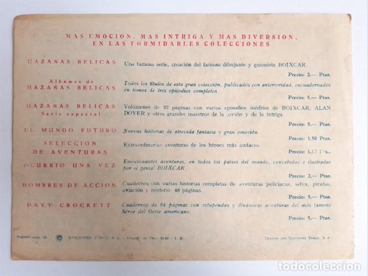 Tebeos: SIGUR EL WIKINGO VIKINGO 14 ASALTO AL CASTILLO SELECCIÓN DE AVENTURAS 143 TORAY 1958 JOSE ORTIZ - Foto 3 - 231303950