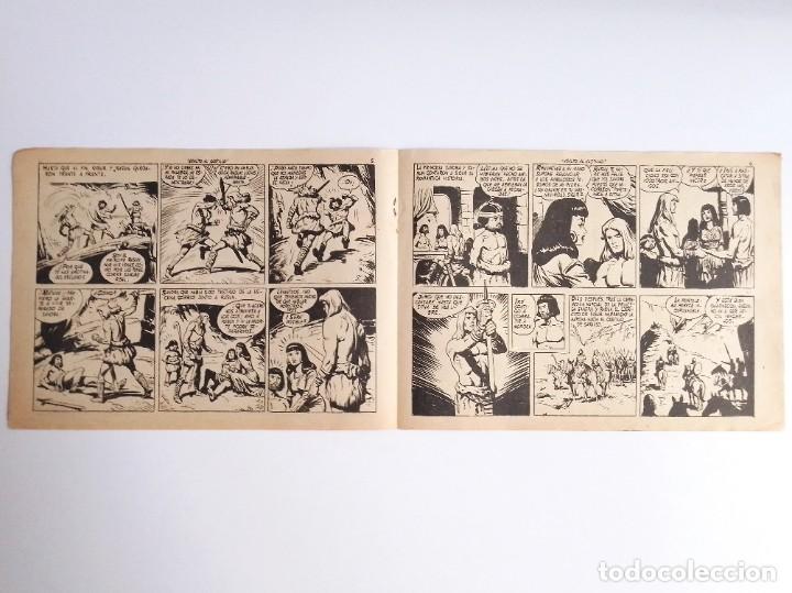Tebeos: SIGUR EL WIKINGO VIKINGO 14 ASALTO AL CASTILLO SELECCIÓN DE AVENTURAS 143 TORAY 1958 JOSE ORTIZ - Foto 5 - 231303950