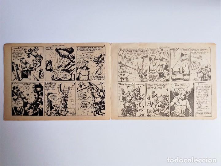 Tebeos: SIGUR EL WIKINGO VIKINGO 14 ASALTO AL CASTILLO SELECCIÓN DE AVENTURAS 143 TORAY 1958 JOSE ORTIZ - Foto 6 - 231303950