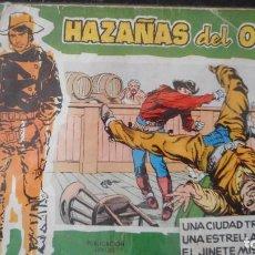 Tebeos: HAZAÑAS DEL OESTE Nº 5. Lote 231320040