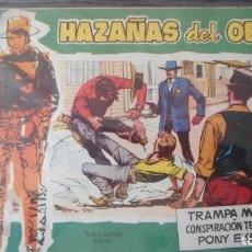 Tebeos: HAZAÑAS DEL OESTE Nº 10. Lote 231320240