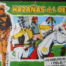 Tebeos: HAZAÑAS DEL OESTE Nº 13. Lote 231320765