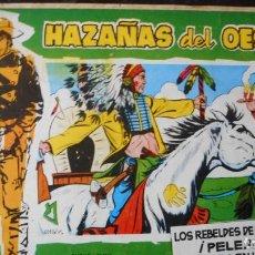 Tebeos: HAZAÑAS DEL OESTE Nº 13. Lote 231323010