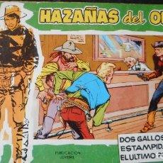 Tebeos: HAZAÑAS DEL OESTE Nº 7. Lote 231323325
