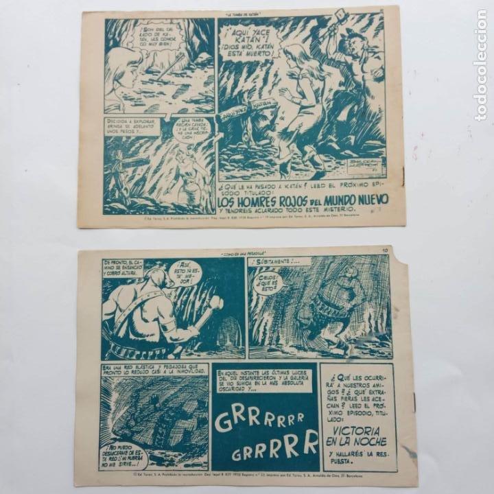 Tebeos: KATAN ORIGINALES NºS 14 Y 22 - EDI. TORAY 1960 - BROCAL REMOI DIBUJOS - Foto 2 - 231591305