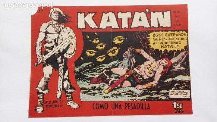 Tebeos: KATAN ORIGINALES NºS 14 Y 22 - EDI. TORAY 1960 - BROCAL REMOI DIBUJOS - Foto 4 - 231591305