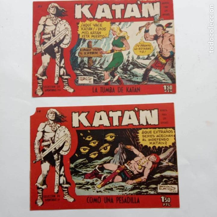 KATAN ORIGINALES NºS 14 Y 22 - EDI. TORAY 1960 - BROCAL REMOI DIBUJOS (Tebeos y Comics - Toray - Katan)