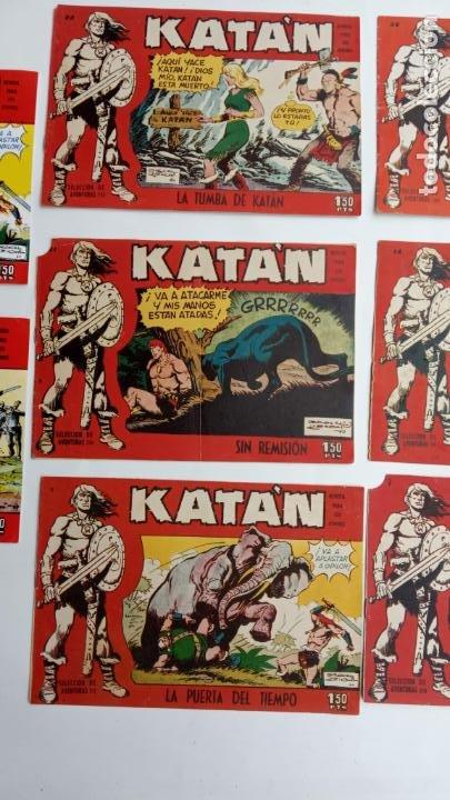 Tebeos: Katan original nºs 7,9,14,21,22,36 + facsimill nºs 1,9 - Foto 3 - 231592255