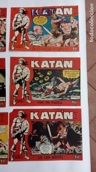 Tebeos: Katan original nºs 7,9,14,21,22,36 + facsimill nºs 1,9 - Foto 4 - 231592255