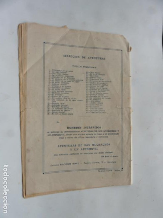 Tebeos: SELECCION DE AVENTURAS Nº 49 OESTE TORAY - Foto 2 - 231594495