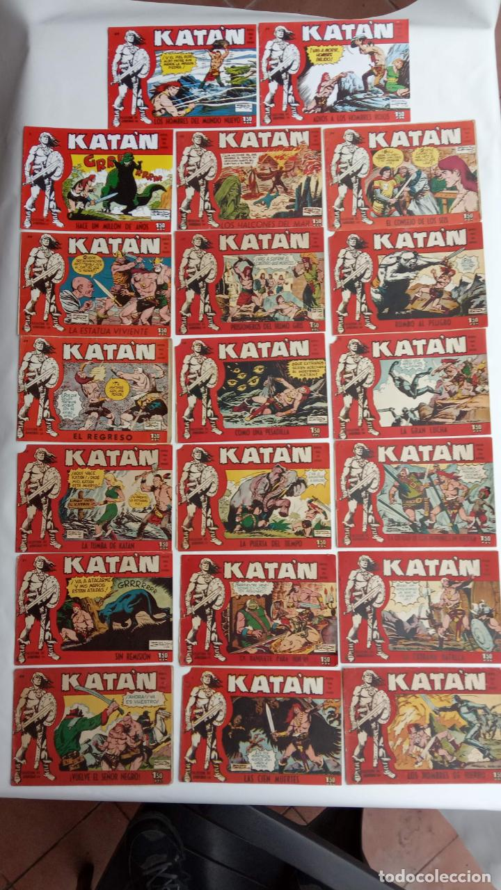 KATAN ORIGINALES - 20 NºS EDITORIAL TORAY 1960 (Tebeos y Comics - Toray - Katan)