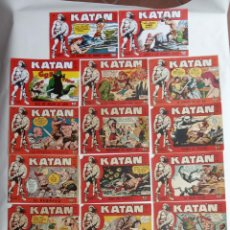 Tebeos: KATAN ORIGINALES - 20 NºS EDITORIAL TORAY 1960. Lote 231627420