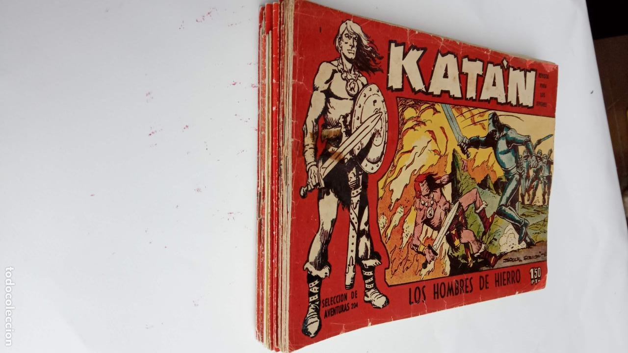 Tebeos: KATAN ORIGINALES - 20 NºS EDITORIAL TORAY 1960 - Foto 2 - 231627420