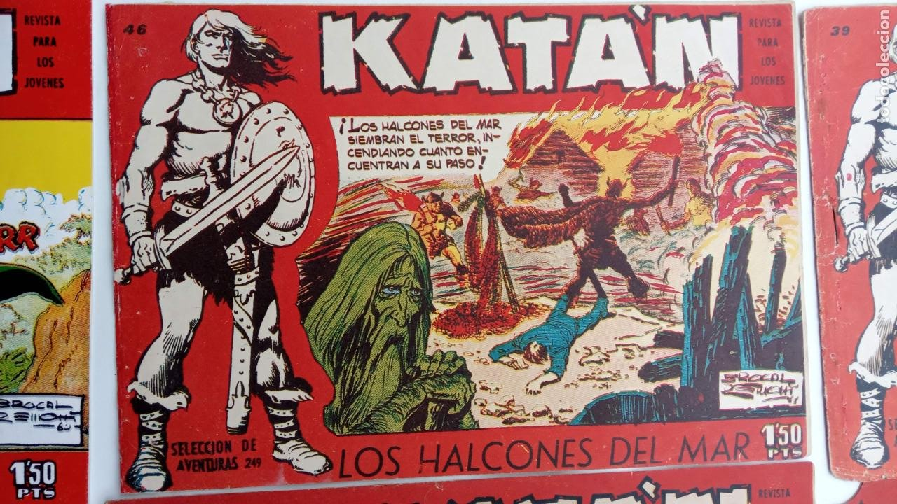 Tebeos: KATAN ORIGINALES - 20 NºS EDITORIAL TORAY 1960 - Foto 3 - 231627420